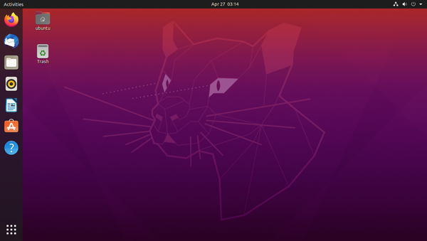 New Ubuntu 20.04 (Focal Fossa)
